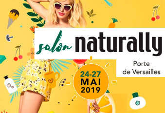 Entrée gratuite Salon NATURALLY 2019